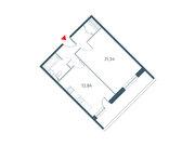 """Продается 1-к. квартира, 51.89 кв.м. ЖК """"Прайм Тайм"""""""