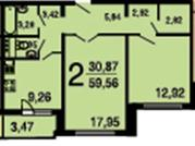 Москва, 2-х комнатная квартира, ул. Перовская д.66 к2, 10100000 руб.