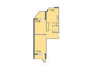 """Продается 2-к. квартира, 61,2 кв.м. в ЖК """"Кварталы 21/19"""""""