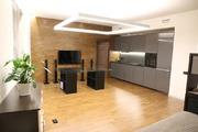 Квартира студия современный дизайнерский ремонт
