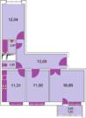 3-комнатная квартира в г.Мытищи м-н Пироговский, ипотека, рассрочка