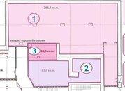 Торговое помещение 205кв.м. на 1 этаже ТЦ, 14634 руб.
