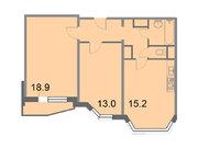 """Продается 2-к. квартира, 59,1 кв.м. в ЖК """"Кварталы 21/19"""""""