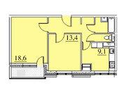 """Продается 2-к. квартира, 57,2 кв.м. в ЖК """"Парк Легенд"""""""