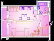 1-комнатная квартира в Мытищах