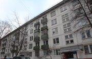 1 комнатная квартира, продажа, Москва, улица Азовская, дом 29к1