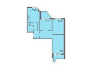 """Продается 3-к. квартира, 78,1 кв.м. в ЖК """"Кварталы 21/19"""""""