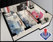 Наро-Фоминск, 2-х комнатная квартира, ул. Новикова д.20, 4733250 руб.