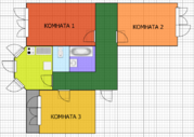 Сергиев Посад, 3-х комнатная квартира, ул. Молодежная д.8в, 5500000 руб.