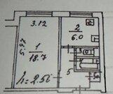 Москва, 1-но комнатная квартира, ул. Академика Миллионщикова д.18, 5100000 руб.