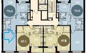 Москва, 1-но комнатная квартира, ул. Краснобогатырская д.90с1, 11490000 руб.