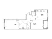 """Продается 2-к. квартира, 68,56 кв.м. в ЖК """"зиларт"""""""