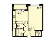 """Продается 1-к. квартира, 44,3 кв.м. в ЖК """"Парк Легенд"""""""