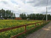 Участок у леса в стародачном поселке, 50 км от МКАД, 550000 руб.