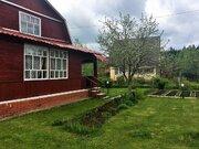 Бревенчатый дом + баня на ухоженном участке 6 сот., 1550000 руб.