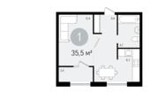 Видное, 1-но комнатная квартира, Ермолинская д.3, 2650000 руб.