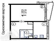 Мытищи, 1-но комнатная квартира, Новомытищинский пр-кт. д.86 к4, 3900000 руб.