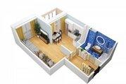 Раменское, 1-но комнатная квартира, лучистая д.7, 2850000 руб.