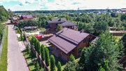 2-х этажный дом 190 м2 из оцилиндрованного бревна на 25 сотках ИЖС, 17500000 руб.