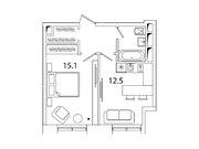 """Продается 1-к. квартира, 37 кв.м. в ЖК """"sreda"""""""