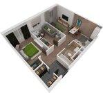 Одинцово, 2-х комнатная квартира, 1-я Вокзальная д.мкр.7, 5493488 руб.
