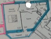 Подольск, 1-но комнатная квартира, микрорайон Климовск, Серпуховская улица д.7, 2550000 руб.