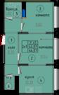 Орехово-Зуево, 2-х комнатная квартира, ул. Бондаренко д.8, 2250000 руб.