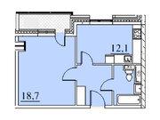 """Продается 1-к. квартира, 44,1 кв.м. в ЖК """"Парк Легенд"""""""