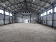 Теплый склад 680 м2 с коммуникациями в Дзержинском, 5400 руб.
