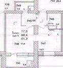 Дубна, 1-но комнатная квартира, ул. Тверская д.16, 3870000 руб.