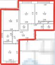 3-комн. квартира 73,8 кв.м. в ЖК Андерсен, 11 км от МКАД, Калужское ш