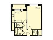 """Продается 1-к. квартира, 44,7 кв.м. в ЖК """"Парк Легенд"""""""