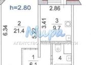 Красково, 1-но комнатная квартира, 2-я Заводская д.20/1, 3490000 руб.