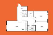 Москва, 3-х комнатная квартира, Александры Монаховой д.96 к2, 11800000 руб.