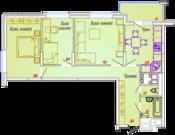 Квартира в новом доме города Мытищи