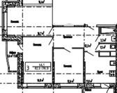Пироговский, 3-х комнатная квартира, заречная д.5, 4418700 руб.