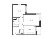 """Продается 2-к. квартира, 66,35 кв.м. в ЖК """"Альфа Центавра"""""""