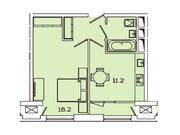 """Продается 1-к. квартира, 39,21 кв.м. в ЖК """"sreda"""""""