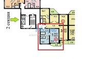 Продается однокомнатная квартира в новостройке на 2 этаже 17 этажного