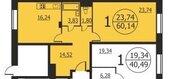 Подольск, 1-но комнатная квартира, Рязановское ш. д.21, 3940000 руб.