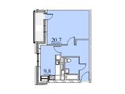 """Продается 1-к. квартира, 46,5 кв.м. в ЖК """"Парк Легенд"""""""