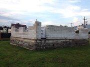 Продажа участка с новым фундаментом в Волоколамске Шаховской проезд, 2500000 руб.