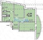 Продам трёхкомнатную квартиру общей площадью 65 кв.м расположенную по