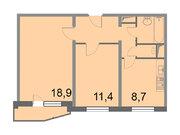 """Продается 2-к. квартира, 50,6 кв.м. в ЖК """"Кварталы 21/19"""""""