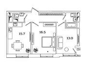 """Продается 2-к. квартира, 59,4 кв.м. в ЖК """"sreda"""""""