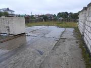 Участок в городе с недостроенным домом из пеноблока 250 кв.м, газ, 2300000 руб.