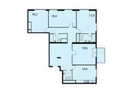 """Продается 4-к. квартира, 136,6 кв.м. в ЖК """"Клубный дом на Серпуховском ."""