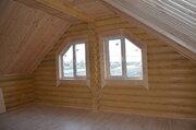 Новый дом из бревна в 5 км от г. Можайск, 88 км от МКАД, Минское ш, 2500000 руб.