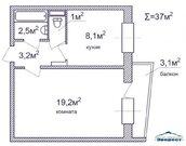 Королев, 1-но комнатная квартира, Речная д.6, 3199000 руб.