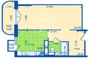 Лобня, 1-но комнатная квартира, улица Жирохова д.3, 3332000 руб.